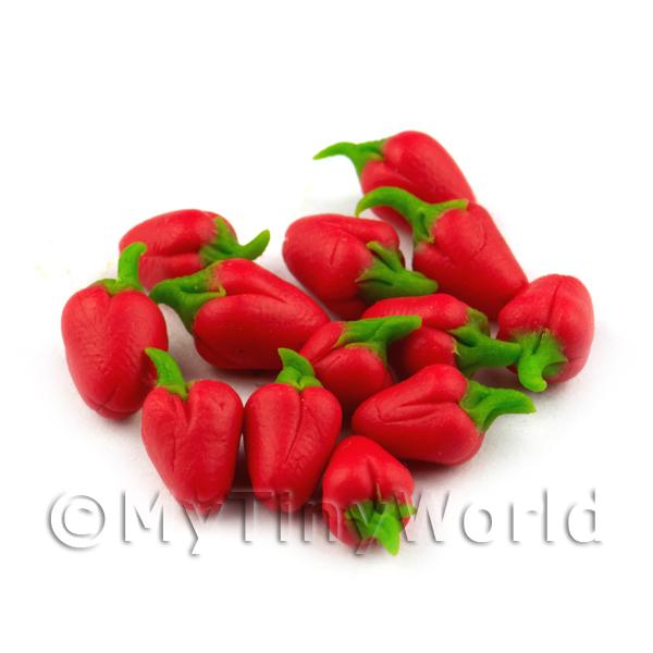 Dolls House Miniature  | Dolls House Miniature Handmade Red Bell Pepper