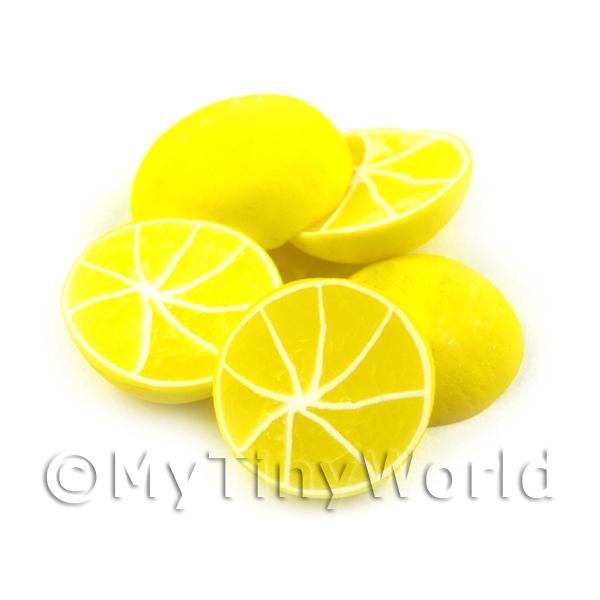 Dolls House Miniature  | Dolls House Miniature Handmade Half Grapefruit