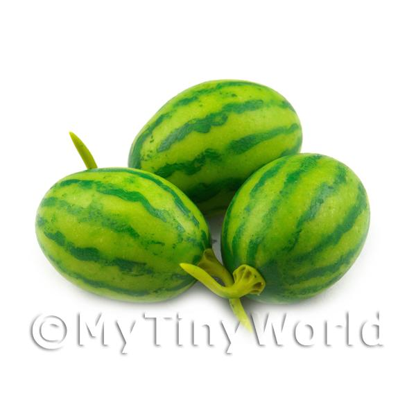 Dolls House Miniature Handmade Watermelon