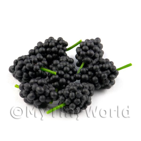 Dolls House Miniature  | Dolls House Miniature Bunch of Black Seedless Grapes