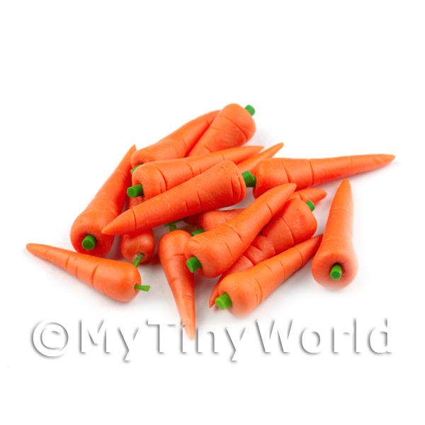 Dolls House Miniature Handmade Large Carrot