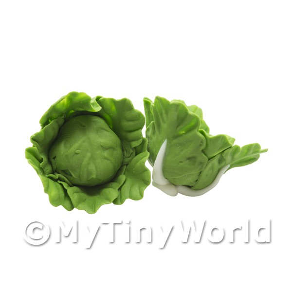 Dolls House Miniature Handmade Untrimmed Cabbage