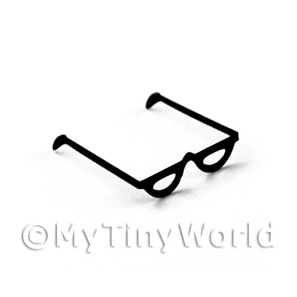 1/12 Scale Dolls House Miniatures  | Dolls House Miniature Pair of Half Moon Reading Glasses