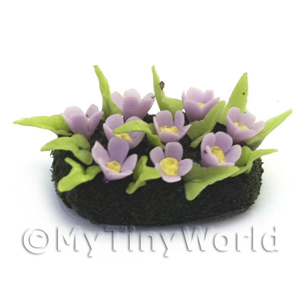 Dolls House Miniature Small DIY Flower Bed (DIY11)