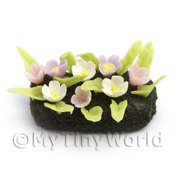 Dolls House Miniature Small DIY Flower Bed (DIY19)