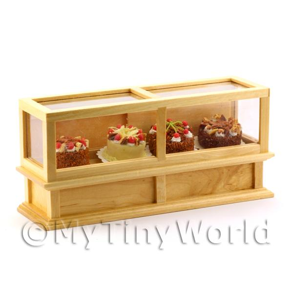 Dolls House Miniature  | Dolls House Miniature Cake Display Cabinet