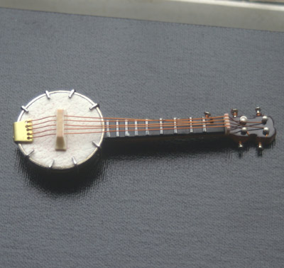 Dolls House Miniature Banjo