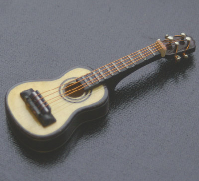 Dolls House Miniature Classical Guitar