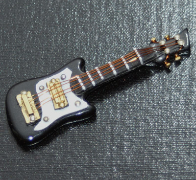 Dolls House Miniature Electric Style Guitar