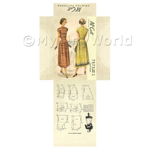 Dress Patterns 1940 Dolls House Miniature Mytinyworld