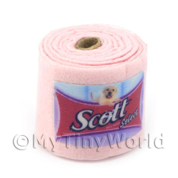Dolls House Miniature Individual Toilet Roll