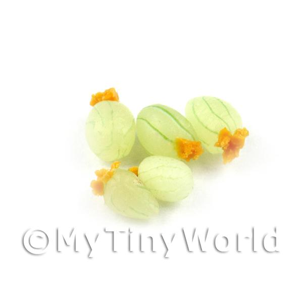 10 Handmade Dolls House Miniature Gooseberries