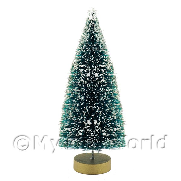 Dolls House Miniature  | Dolls House Miniature Medium Snow Effect Christmas Tree