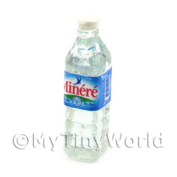 Dolls House Miniature French Minere Water Bottle