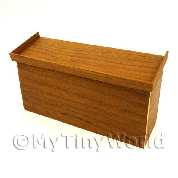 Dolls House Miniature Mahogany Colour Stand