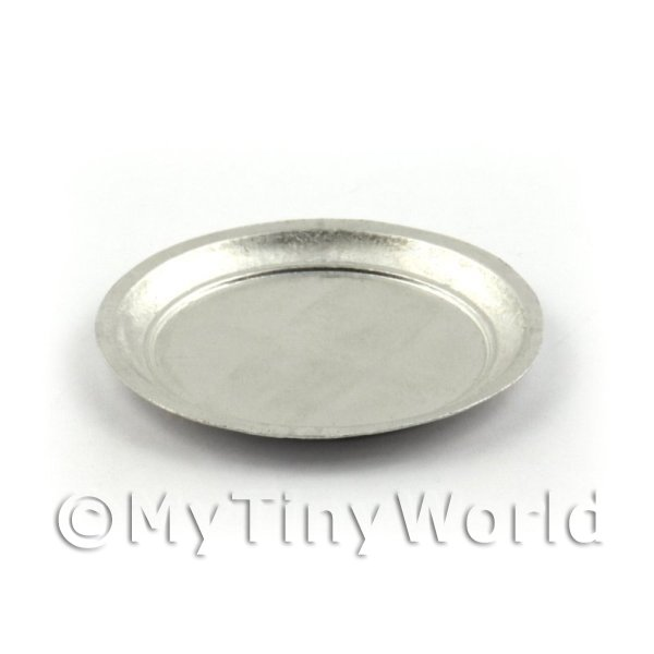 Dolls House Miniature Aluminium 25mm Metal Bar Tray
