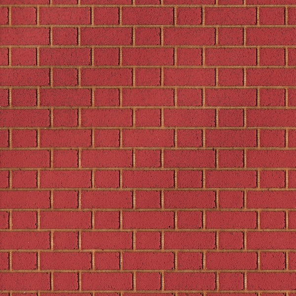 Flemmish Red Brick With Buff Mortar Dolls House Cladding