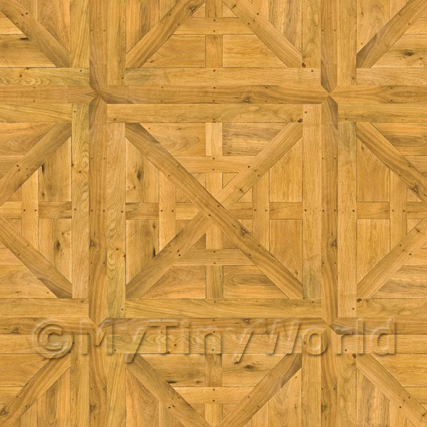 Dolls House Caserta Large Panel Parquet Wood Effect Flooring
