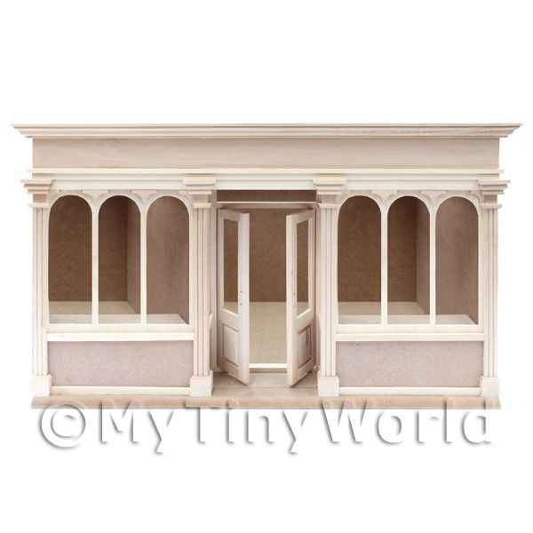Dolls House Miniature  | Dolls House Miniature 6 Pane Long Shop Shop Kit