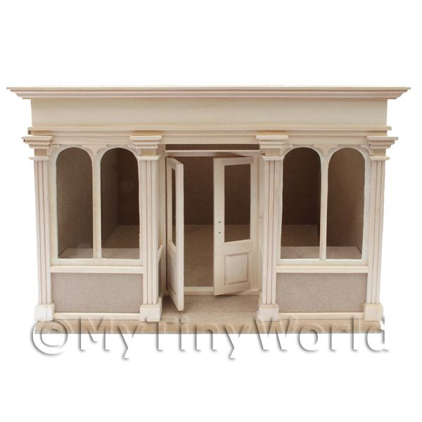 Dolls House Miniature  | Dolls House Miniature 4 Pane Short Shop Kit