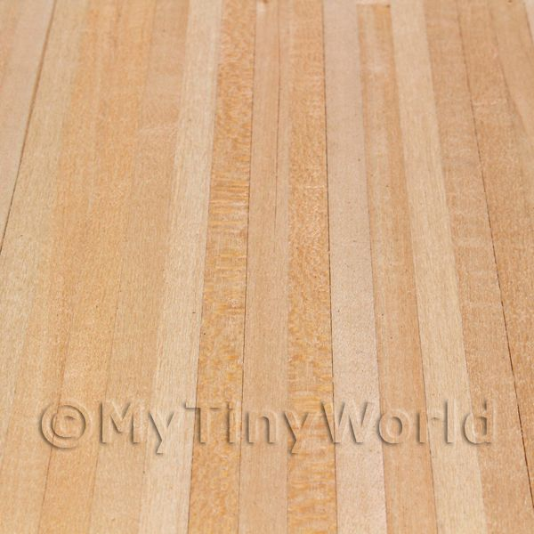 close up view of the unvarnished pine floor