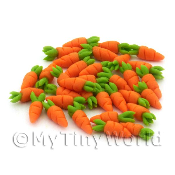 Dolls House Miniature Baby Carrot With Top