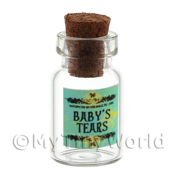 Dolls House Miniature  | Dolls House Miniature Babys Tears Magic Storage Jar (Style 2)
