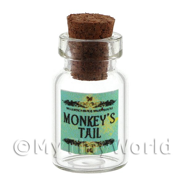 Dolls House Miniature Monkeys Tail Magic Storage Jar (Style 2)