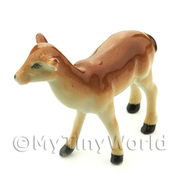 Dolls House Miniature Ceramic Doe Common Deer