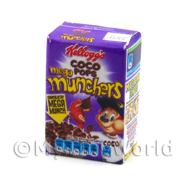 Dolls House Miniature  Box of Nestle Coco Munchies