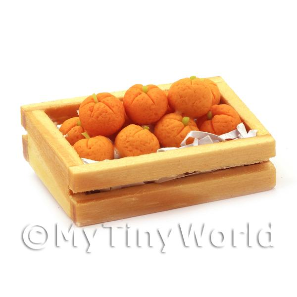 Dolls House Miniature  | Dolls House Miniature Crate Of Oranges
