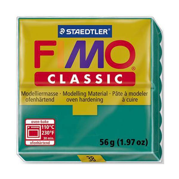 FIMO Classic Basic Colours 56g Teal 38