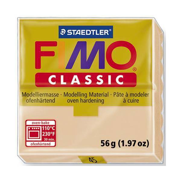 FIMO Classic Basic Colours 56g Dark Flesh 45