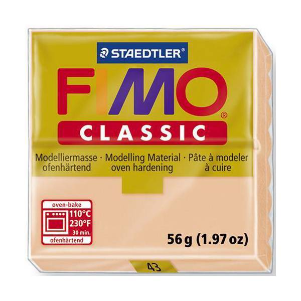 FIMO Classic Basic Colours 56g Light Flesh 43