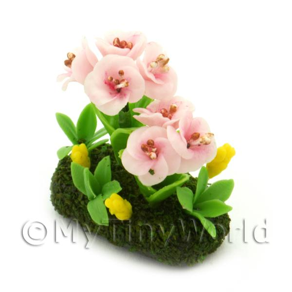 Dolls House Miniature Flower Bed Rhododendron