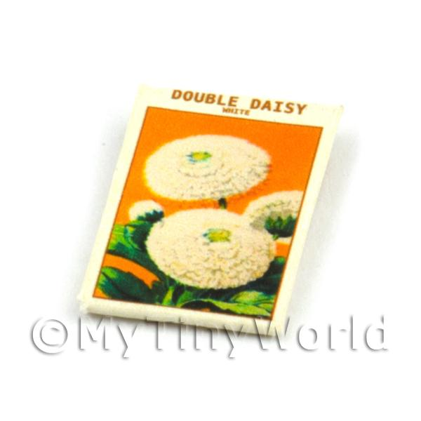 Dolls House Flower Seed Packet - Double Daisy