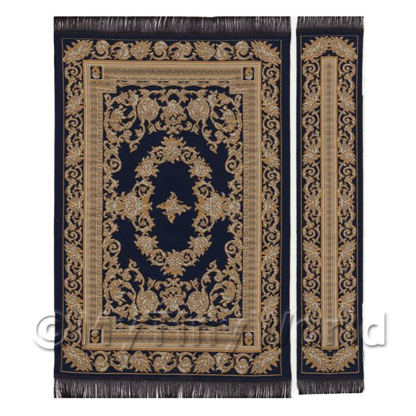 Dolls House Medium French Provincial Rectangular Rug And Runner  (FPMRR02)