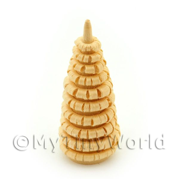 Dolls House Miniature 40mm Natural Tree