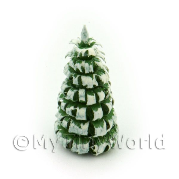 Dolls House Miniature 20mm Snow Tree