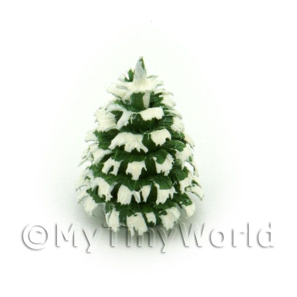 Dolls House Miniature 15mm Snow Tree