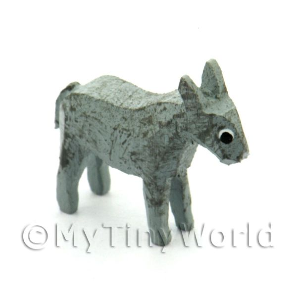 German Dolls House Miniature Small Standing Donkey