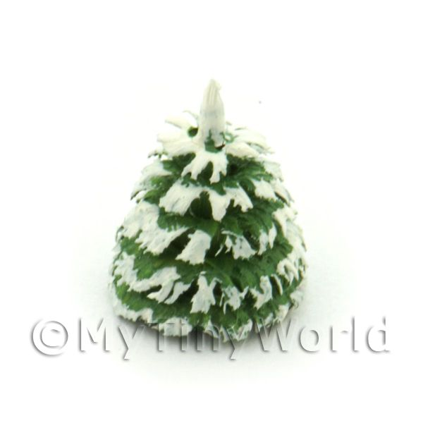 Dolls House Miniature 10mm Snow Tree