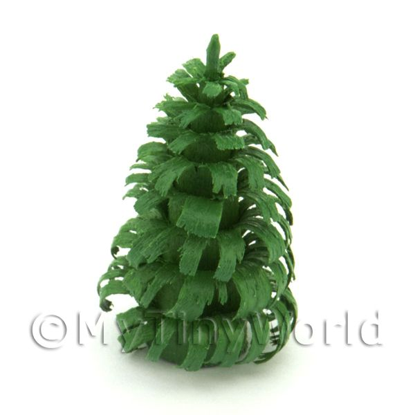 Dolls House Miniature 30mm Green Tree