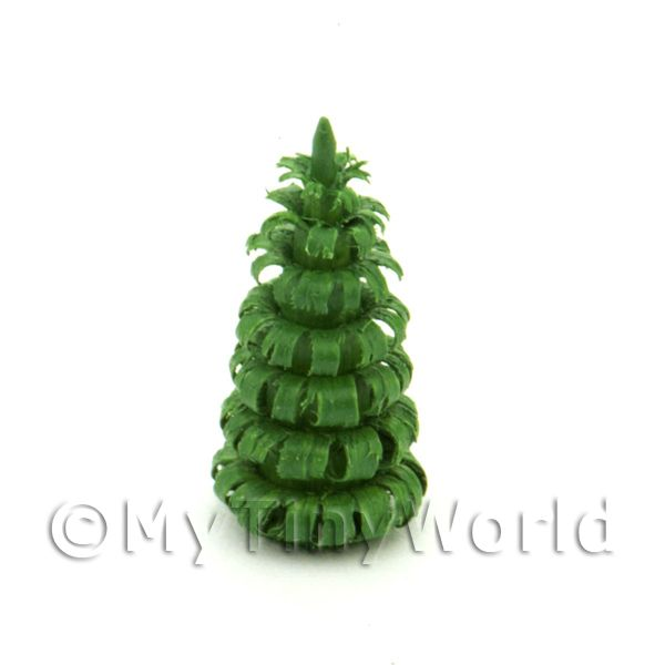 Dolls House Miniature 20mm Green Tree