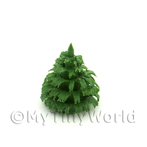 Dolls House Miniature 10mm Green Tree