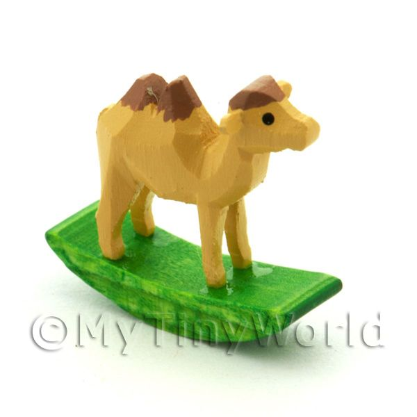 German Crafted Dolls House Miniature 20mm Rocking Camel