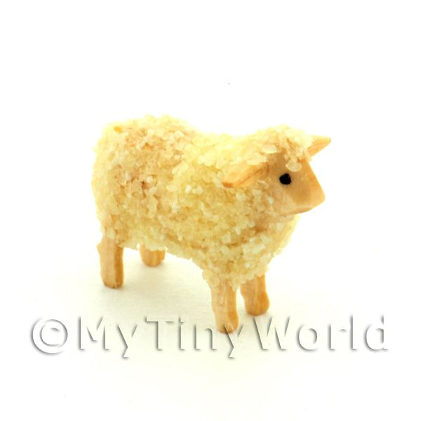 German Dolls House Miniature Small Standing Sheep