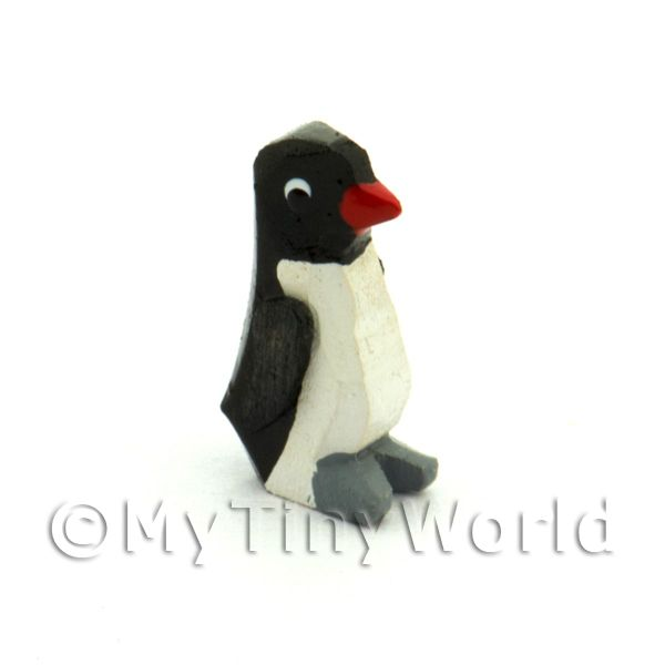 German Dolls House Miniature Small Standing Penguin
