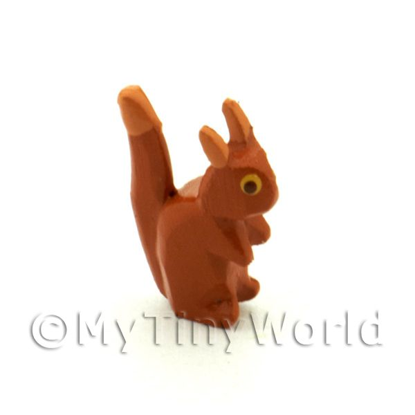 German Dolls House Miniature Small Squirrel