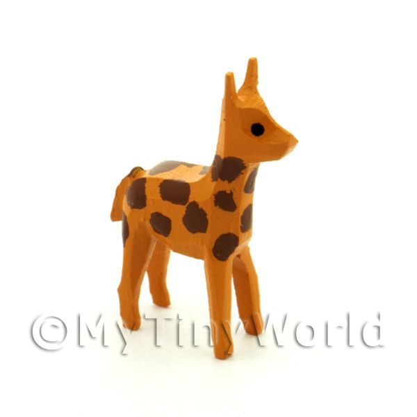 German Dolls House Miniature Small Standing Giraffe